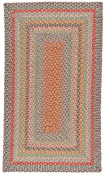 Braided Rug Carnival Rectangle