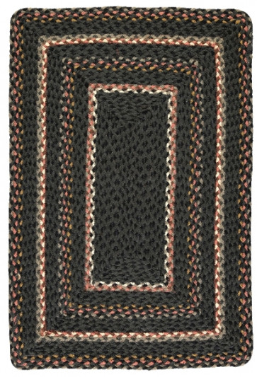 Braided Rug | Marble Rectangle