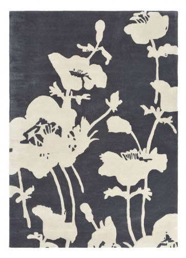 Floral 300 039604 Charcoal