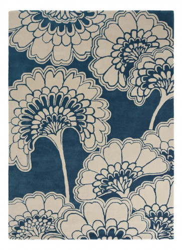 Japanese Floral 039708 Midnight