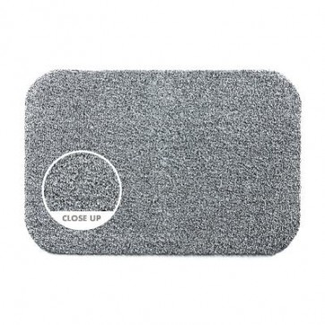 Hug Rug Doormat Runner Light Grey