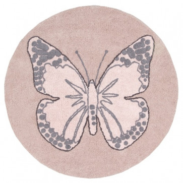 Lorena Canals Rug | Butterfly Vintage Nude