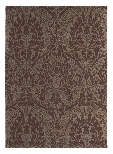 Morris & Co Rug | Autumn Flowers Plum 27500 | Custom Size