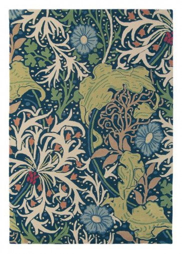 Morris & Co Rug | Seaweed Ink 28008 | Custom Size