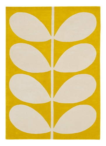 Orla Kiely Rug | Yellow Stem 059306 | Custom Size