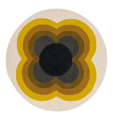Orla Kiely Rug | Sunflower Yellow 060006 | Custom Size