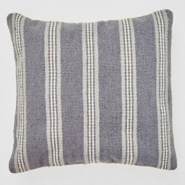Weaver Green Cushion Henley Stripe Clay