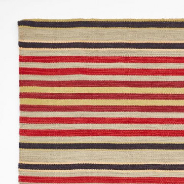 Weaver Green Rug Regimental Stripe