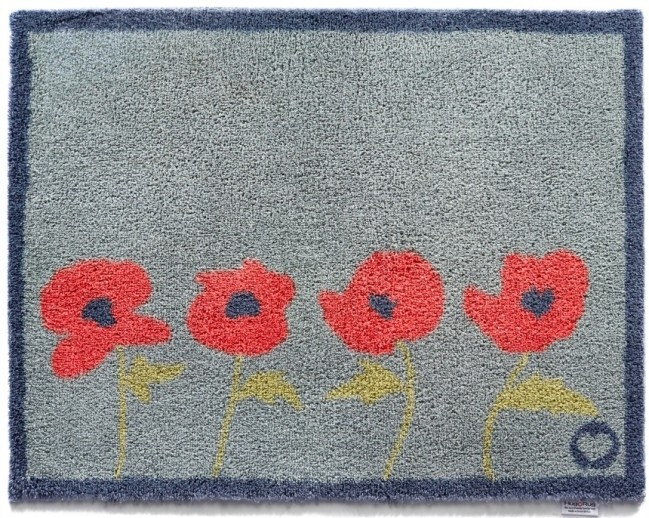 Hug Rug Doormat Washable Dirt Trapper Home 30 Poppies