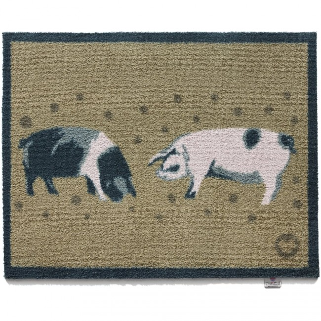 Hug Rug Washable Dirt Trapper Doormat And Runner Pigs