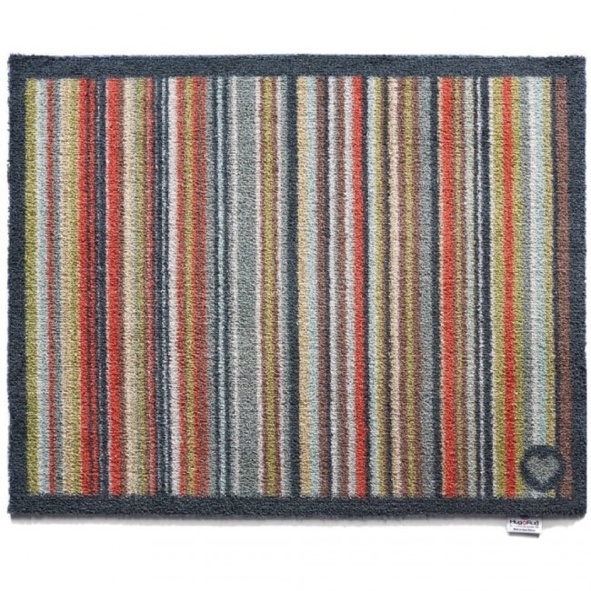 hug rug washable dirt trapper doormat and runner stripe 32. Black Bedroom Furniture Sets. Home Design Ideas