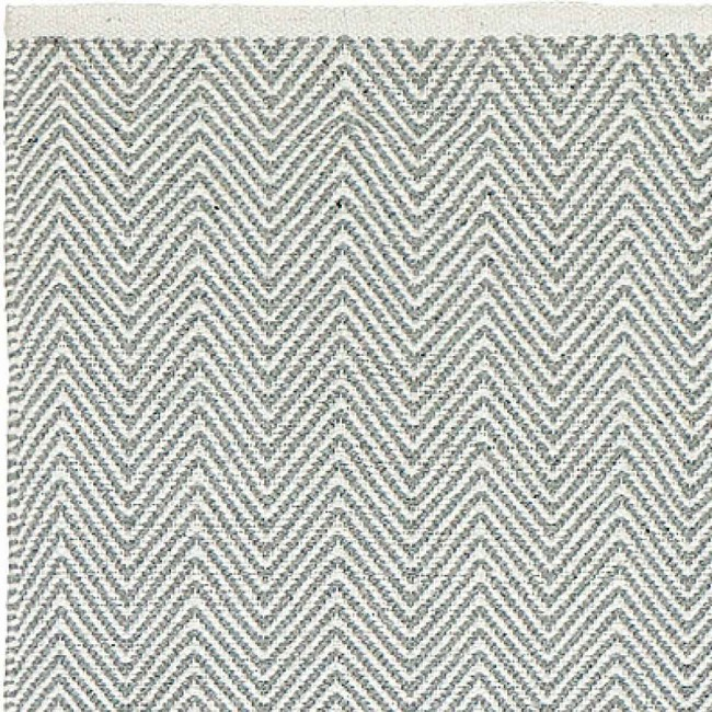 Liv Rug Cotton Zigzag Grey Heugah