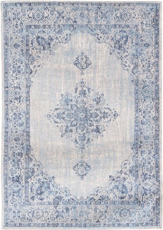 Louis De Poortere Rug Khayma Fairfield 8670 Blue Border