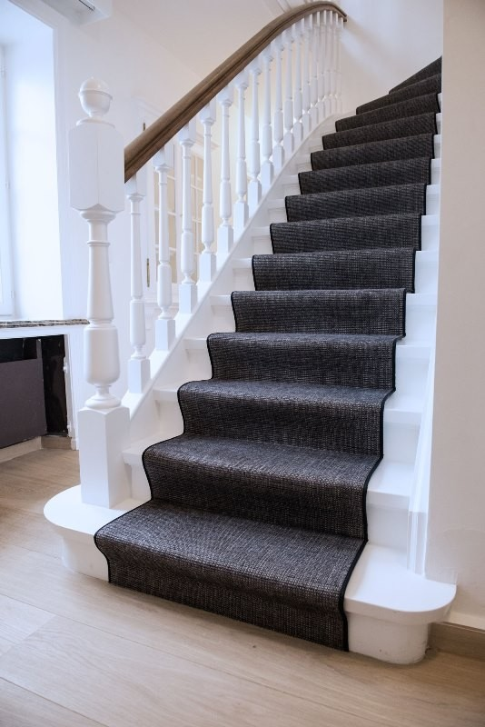 Louis De Poortere Carpet Stair Runner Heugah Interiors