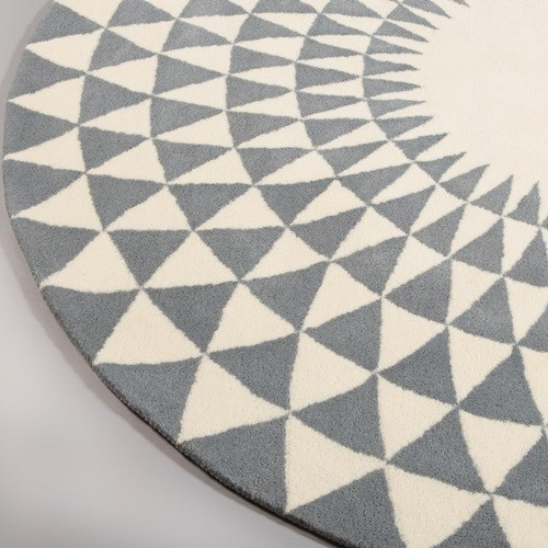 Niki Jones Rug Concentric Steel Zoom