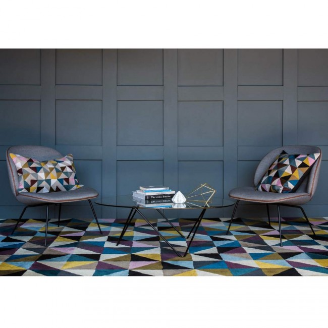 Niki Jones Rug Harlequin Chairs