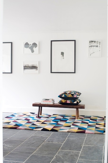Niki Jones Rug Harlequin Room