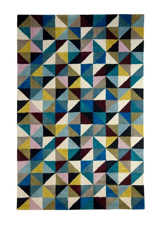 Niki Jones Rug Harlequin