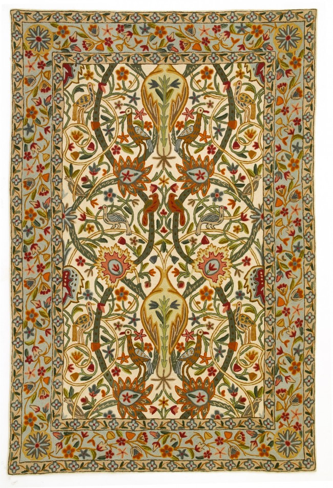 Zaida Hand Stitched Rug Arts And Crafts Heugah Interiors