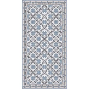 Vinyl Rug - Princess Blue Runner