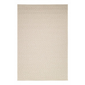AFK Braided Rug Leaves Beige