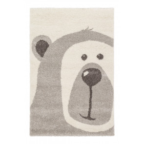 AFK Children's Rug Teddy Bear Grey