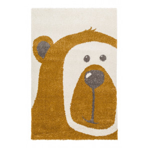 AFK Children's Rug Teddy Bear Honey