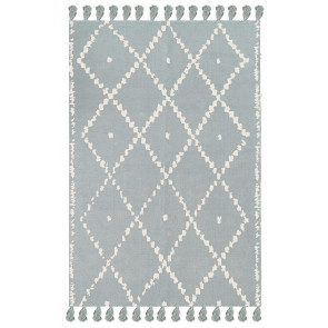 AFK Children's Rug Berber Blue