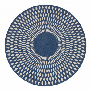 AFK Rug Diamond Illusion Midnight Blue