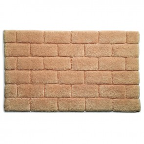 Bamboo Bath Mat Brick Latte