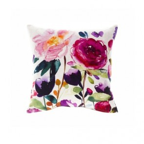 Bluebellgray Cushion Red Rose