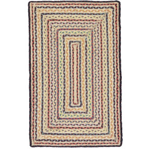 Braided Rug | Fairisle Rectangle