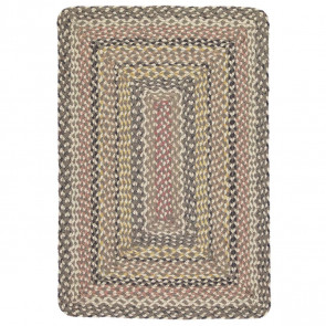 Braided Rug Granite Rectangle