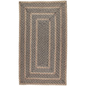 Braided Rug Pebble Pale Rectangle