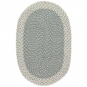 Braided Rug Thistle Oval