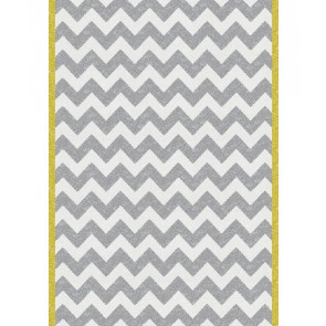 Chevron Rug Yellow