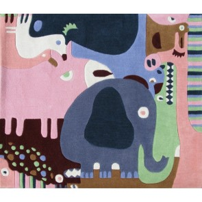 Children's Rug Animal Puzzle