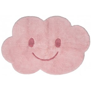 Washable Children's Rug - Nimbus Pink