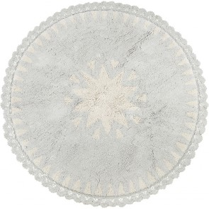 Washable Children's Round Rug - Warren Natural