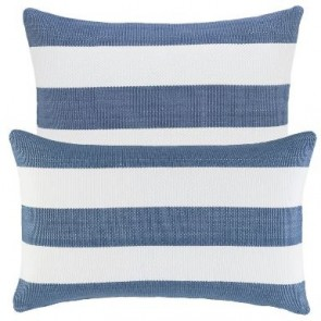 Dash and Albert Cushion Catamaran Denim