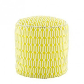 Pouf Links Chartreuse
