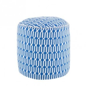 Pouf Links Cobalt