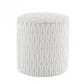 Pouf Links Pearl Grey