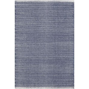 Dash and Albert Herringbone Indigo