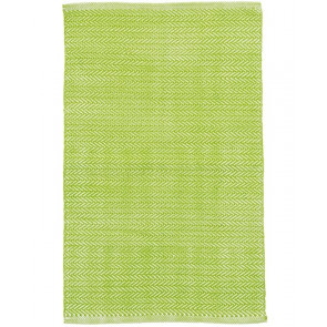 Indoor Outdoor Rug Herringbone Green