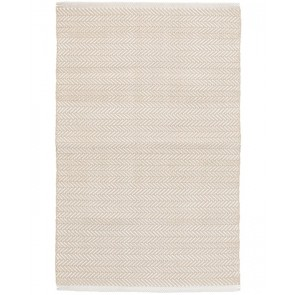 Indoor Outdoor Rug Herringbone Linen