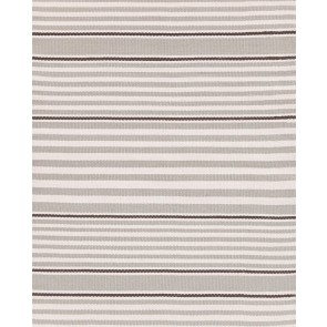 Dash and Albert Rugby Stripe Platinum