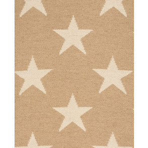 Dash & Albert | Indoor Outdoor Rug | Star Camel 76cm x 244cm