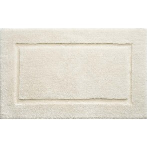 Bamboo Bath Mat Border Cream