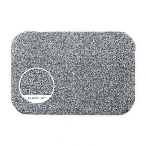 Hug Rug Light Grey Plain